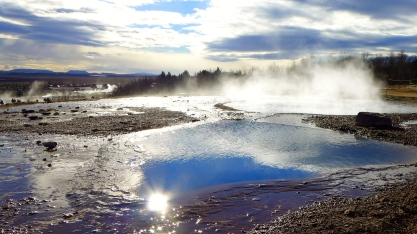 Geothermal Pool at Geysir