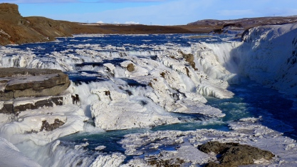 Gullfoss First Cascade
