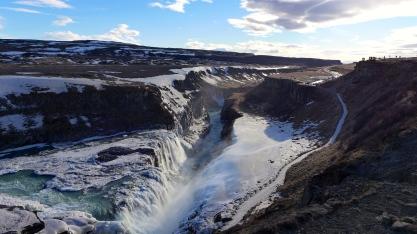 Gullfoss River Rift