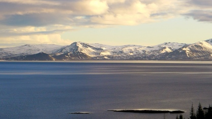 Mountains at Þingvallavatn