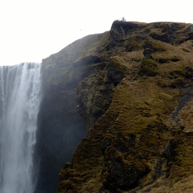 Top of Skógafoss