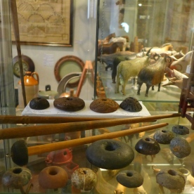 Spindles and Whorls at Skógar Museum