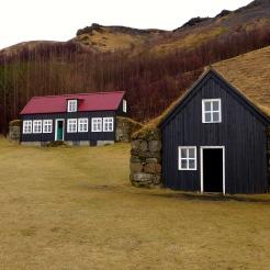 Reconstructed Buildings at Skógar
