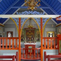 Chapel Interior at Skógar Museum