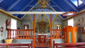 Chapel Interior at Skógar Museum