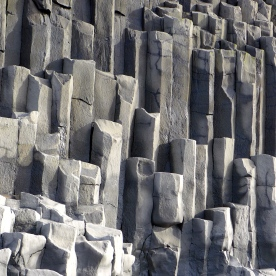 Basalt Columns at Reynisdrangar