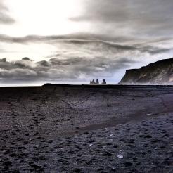 Black Sand at Vik