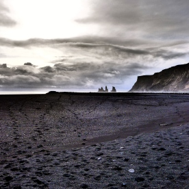 Black Sand at Vik