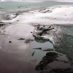 Icy at Mýrdalsjökull