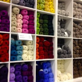 Lettlopi yarn at the Hagkaup grocery store