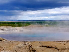 Great Geysir, the grandfather.