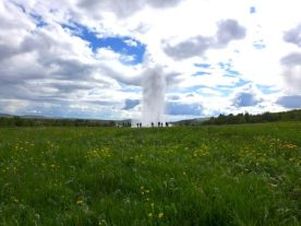 Strokkur, the grandson geysir